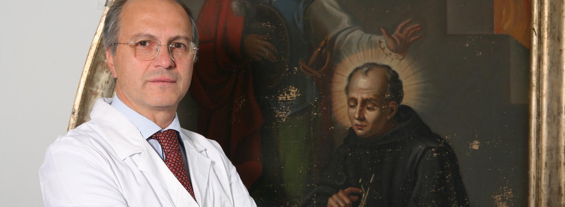 Dottor Giancarlo Accarino - Direttore del reparto di chirurgia vascolare dell'ospedale San Giovanni di Dio e Ruggi d'Aragona di Salerno